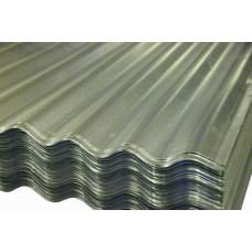 Лист гофрированный оцинкованный Ширина мм - общая 900, полезная 850, длина 2000. Цена за лист.