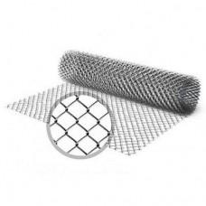 Сетка рабица 50*50 (1,5*10 м оцинк.) 1,8 мм (рулон)