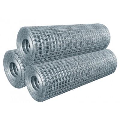 Сетка сварная 50*50 мм, 1,6 мм (рулон 0,5*50 м), оцинкованная