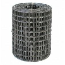 Сетка сварная 50*50 мм, 1,6 мм (рулон 0,5*50 м), стальная