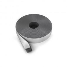 Лента демпферная НПЭ самоклейка с металлизированной плёнкой, толщина 10 мм, ширина 100 мм (25 м/рул.)