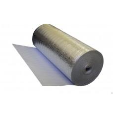 Подложка НПЭ самоклеящаяся с фольгой, ширина 0,6 м, толщина от 3 до 10 мм (рул.)