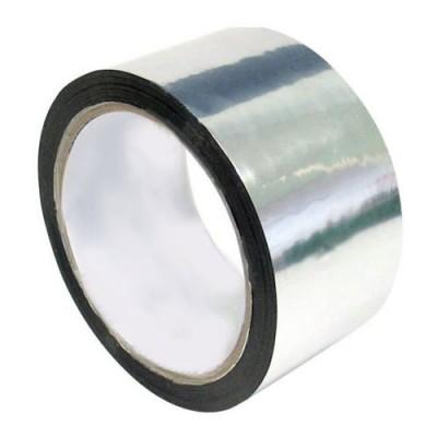 Скотч лавсановый (металлизированный) 50 мм, 50 м пог.