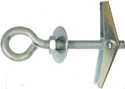 Складной пружинный дюбель с крючком